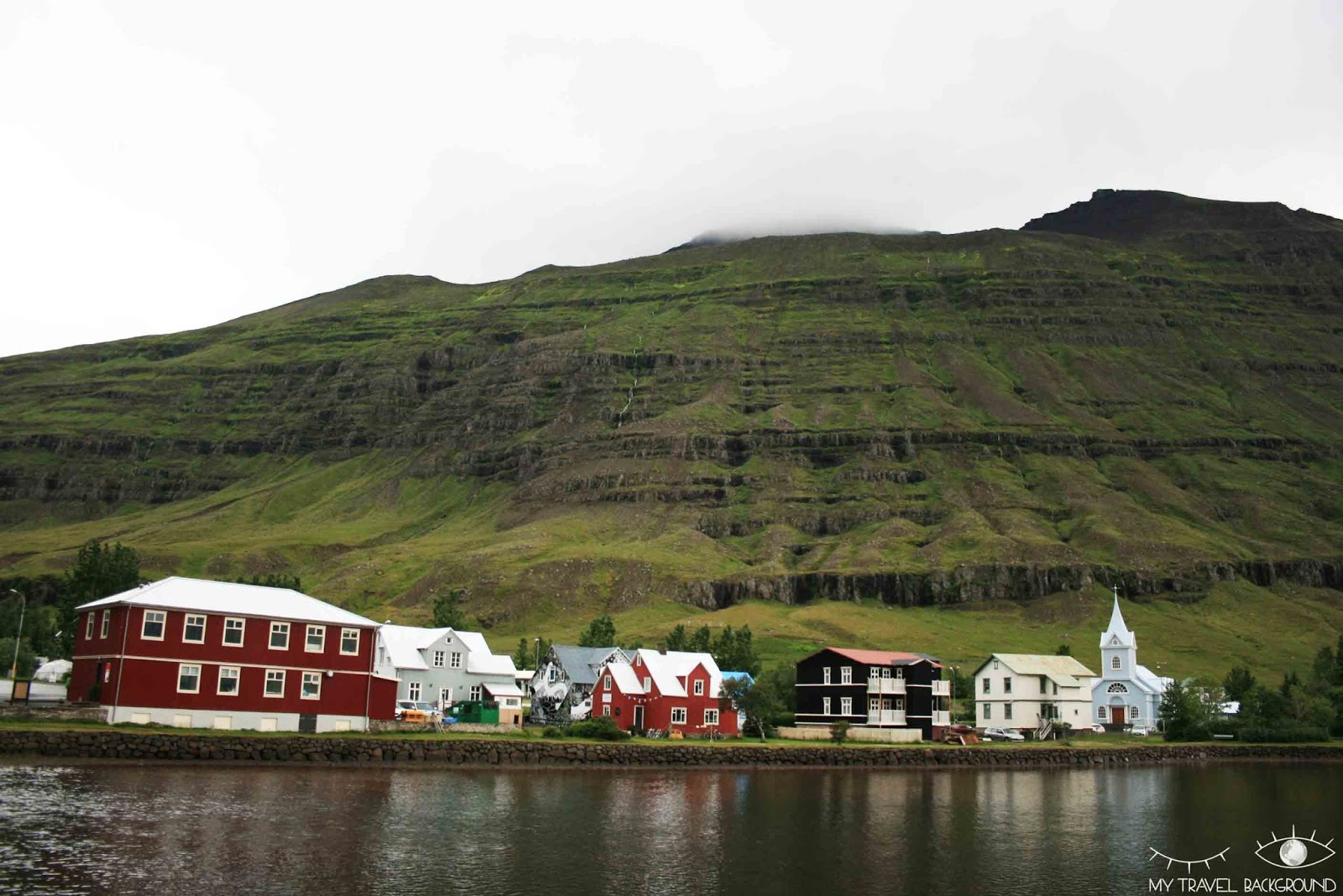 My Travel Background : Islande, en route vers les fjords de l'Est - Seydisfjordur