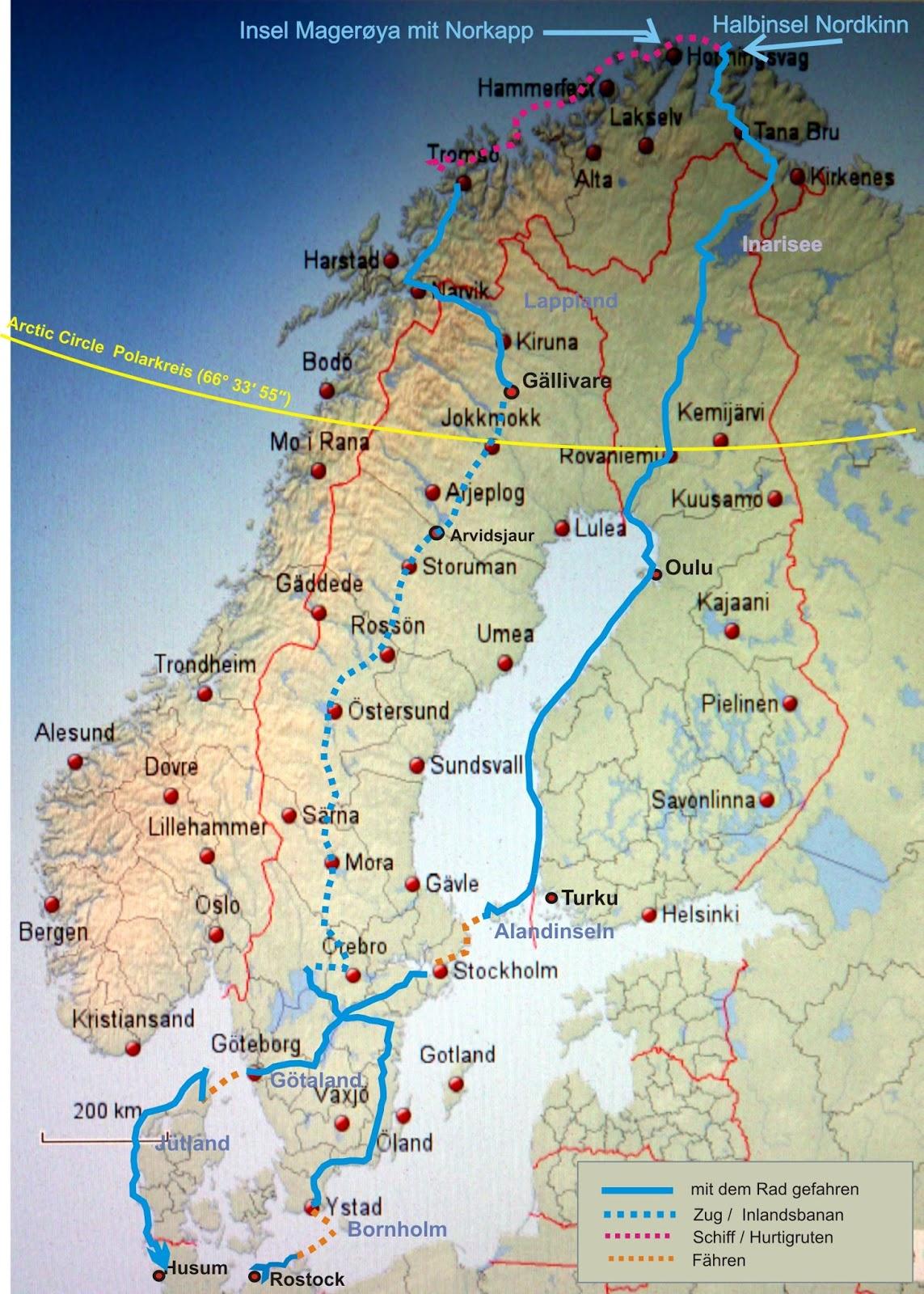 highlights am polarkreis reiseberichte