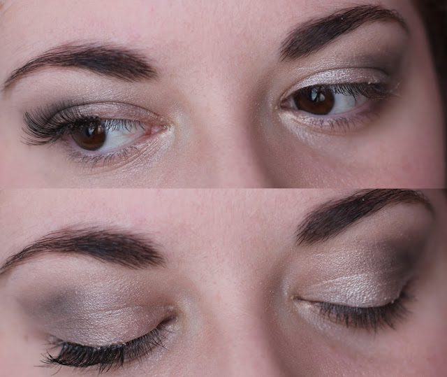 maquillage demi faux cils
