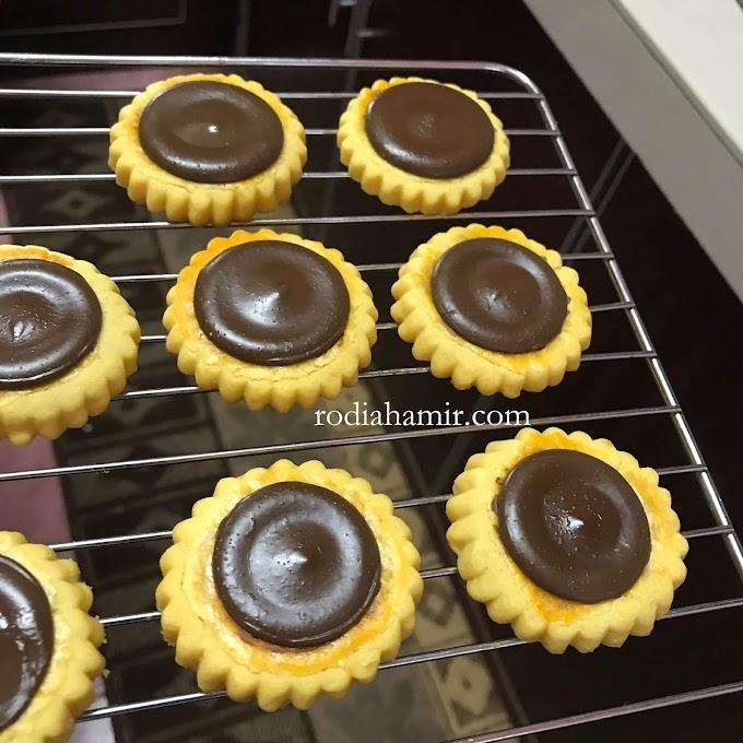 Biskut Tart Coin Coklat  / Tart Cadbury Viral