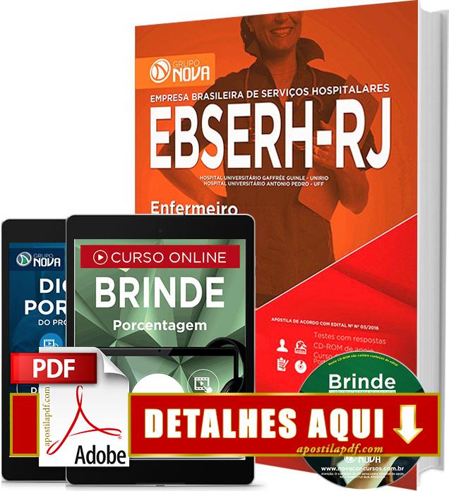 Apostila EBSERH RJ 2016 Enfermeiro Impressa