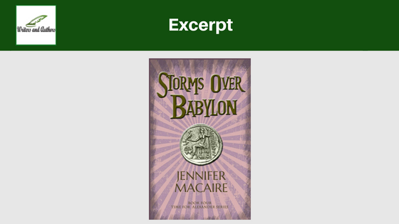 Excerpt: Storms Over Babylon by Jennifer Macaire