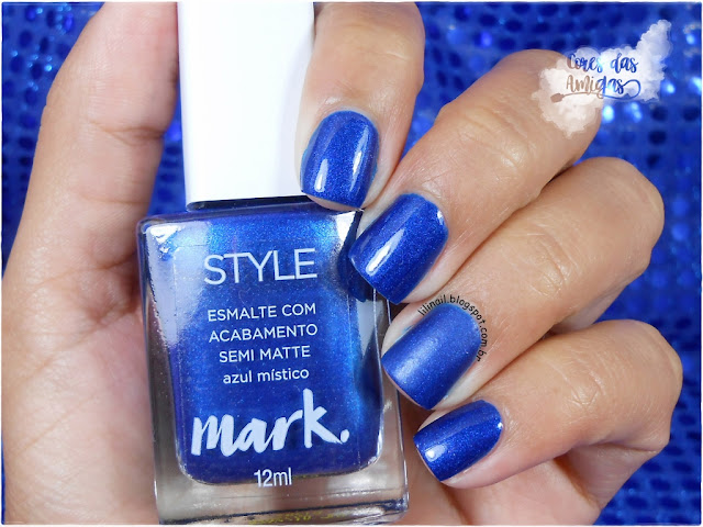 Azul Místico Avon Nailpolish Esmalte Fosco Matte
