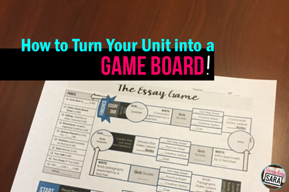 Game-based learning has become incredibly popular in teaching lately, and it's no wonder why, since it's so engaging for students. I've been perfecting a game-based program for grammar over the last five years, and it has my students going above and beyond to compete, succeed, and be creative - for GRAMMAR! Are you ready to learn more about my game board? Click through to read all about it!