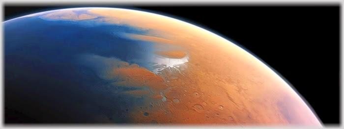 Marte tinha um grande oceano