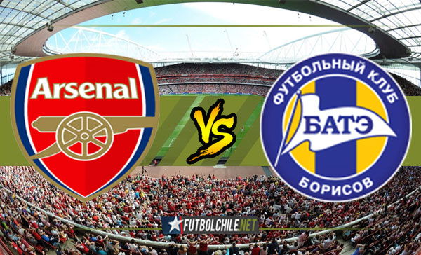 Arsenal vs BATE Borísov - 17:05 h - UEFA Europa League - 06/12/17