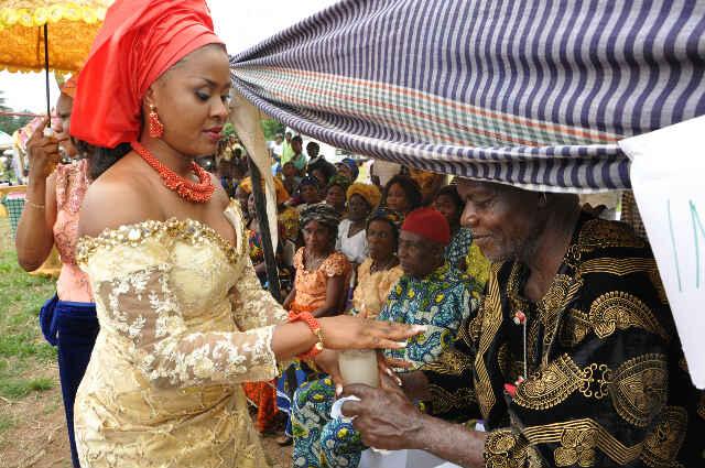 an igbo traditional wedding ceremony stephanie chijioke marries