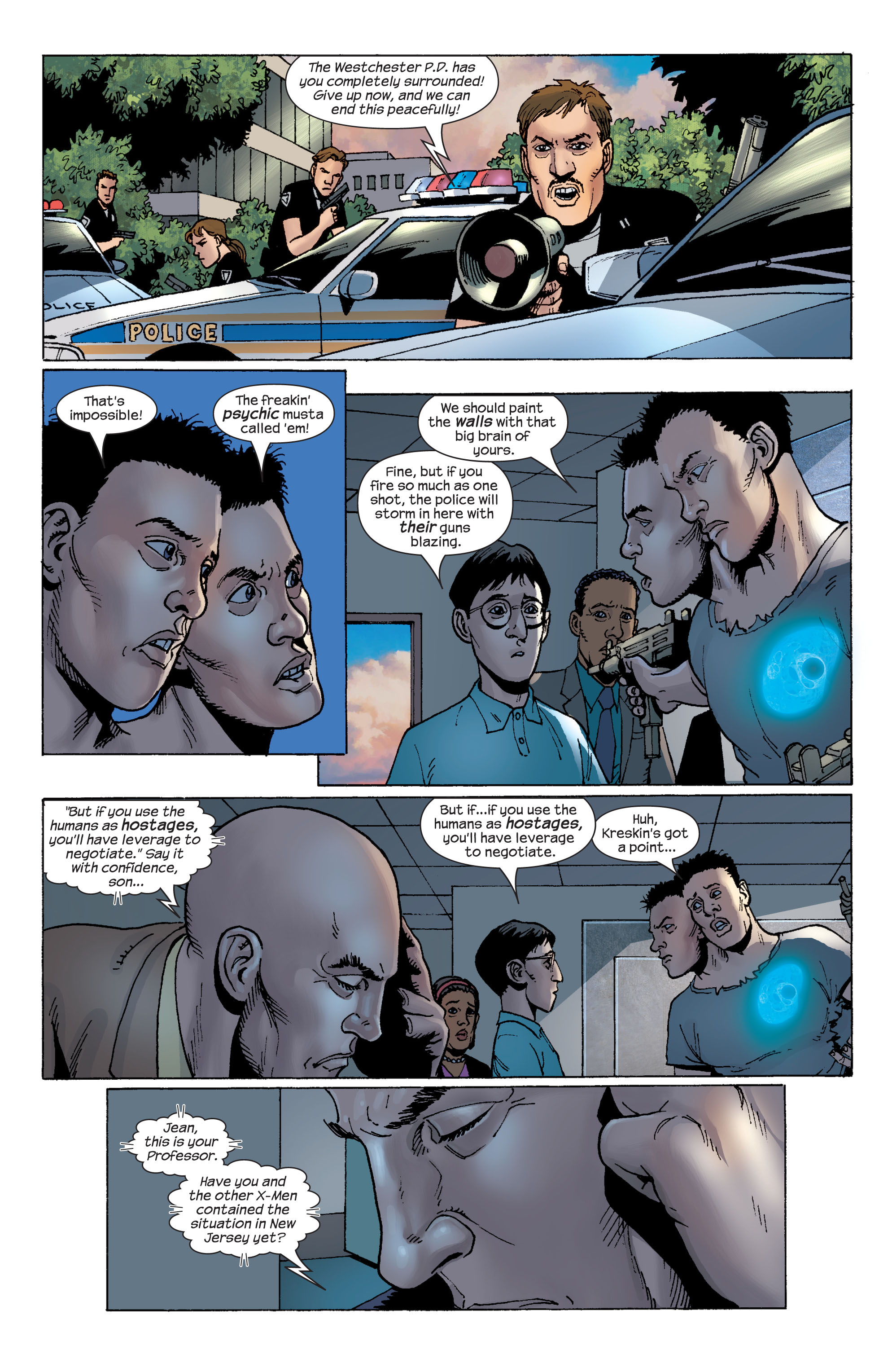 Read online Ultimate X-Men comic -  Issue #58 - 8