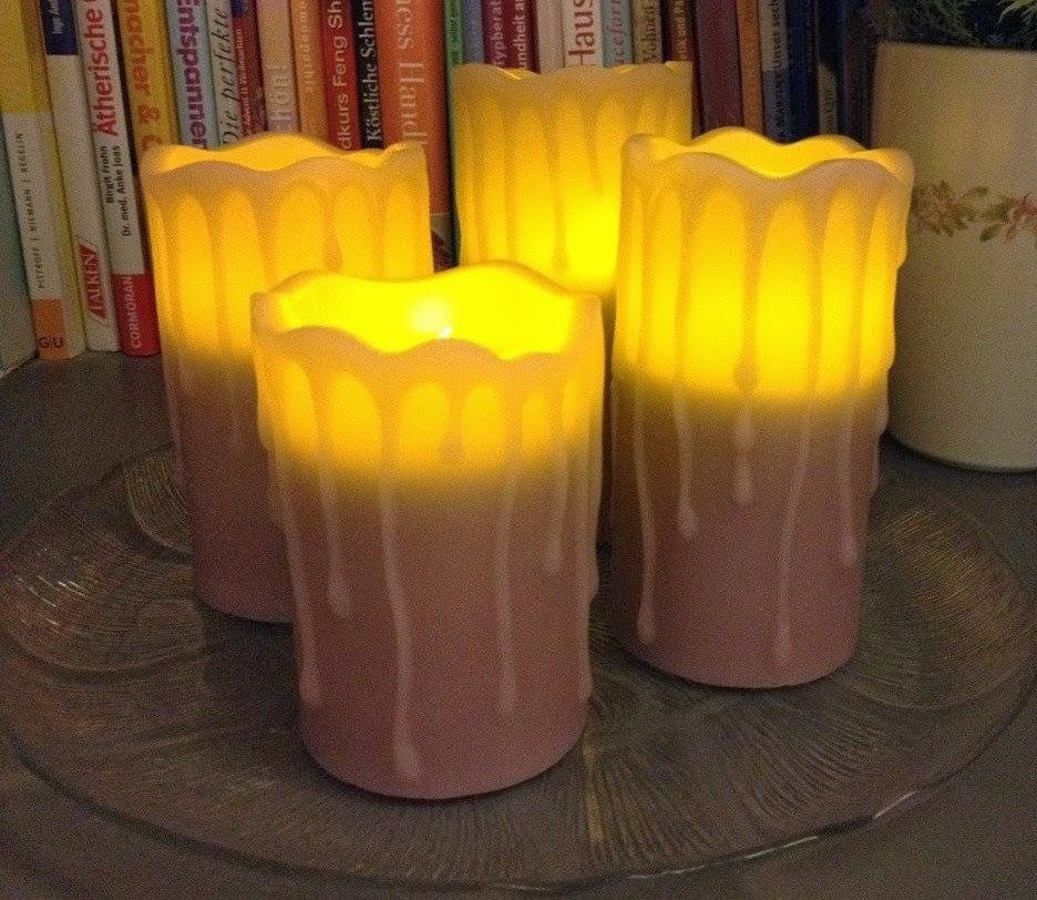 hse24 flambiance flammenlose kerzen