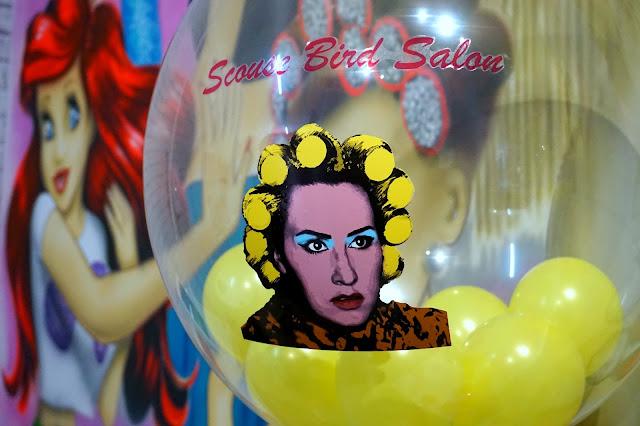 scouse bird salon balloon