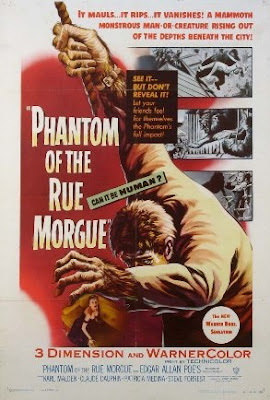 Phantom of the Rue Morgue (1954), Poe on film