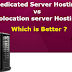 The Advantages of Colocation over Dedicated