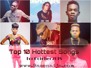 Naija Top Ten Songs 2018