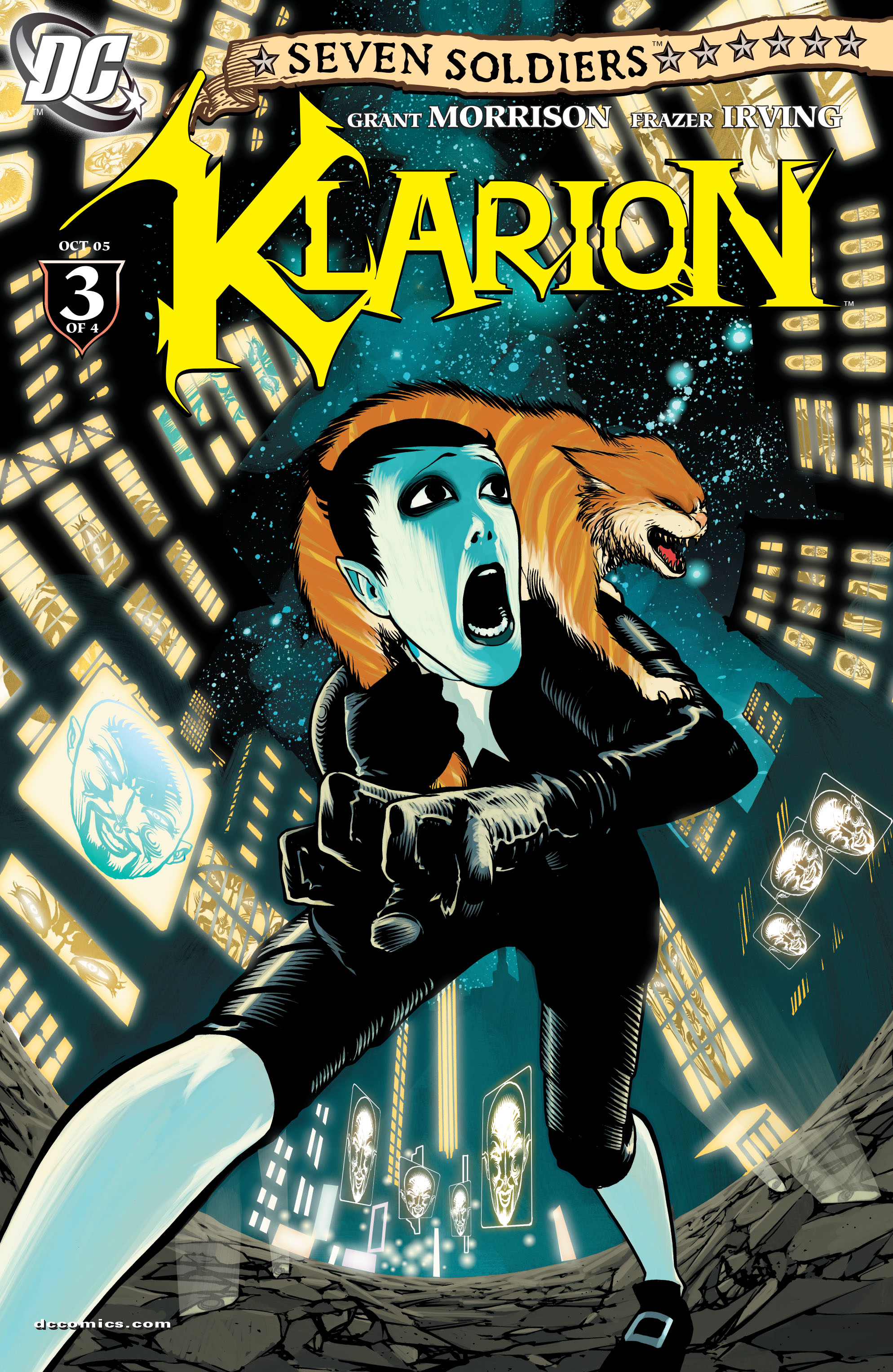 Read online Seven Soldiers: Klarion the Witch Boy comic -  Issue #3 - 1