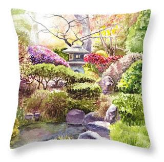 Throw Pillow art by Irina Sztukowski home decor idea