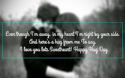 Beautiful Happy Hug Day 2017 Message