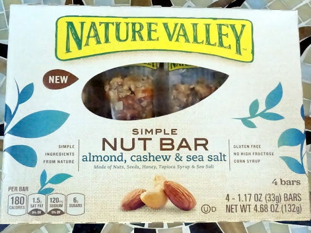 My WAHM Plan: Nature Valley simple nut bars