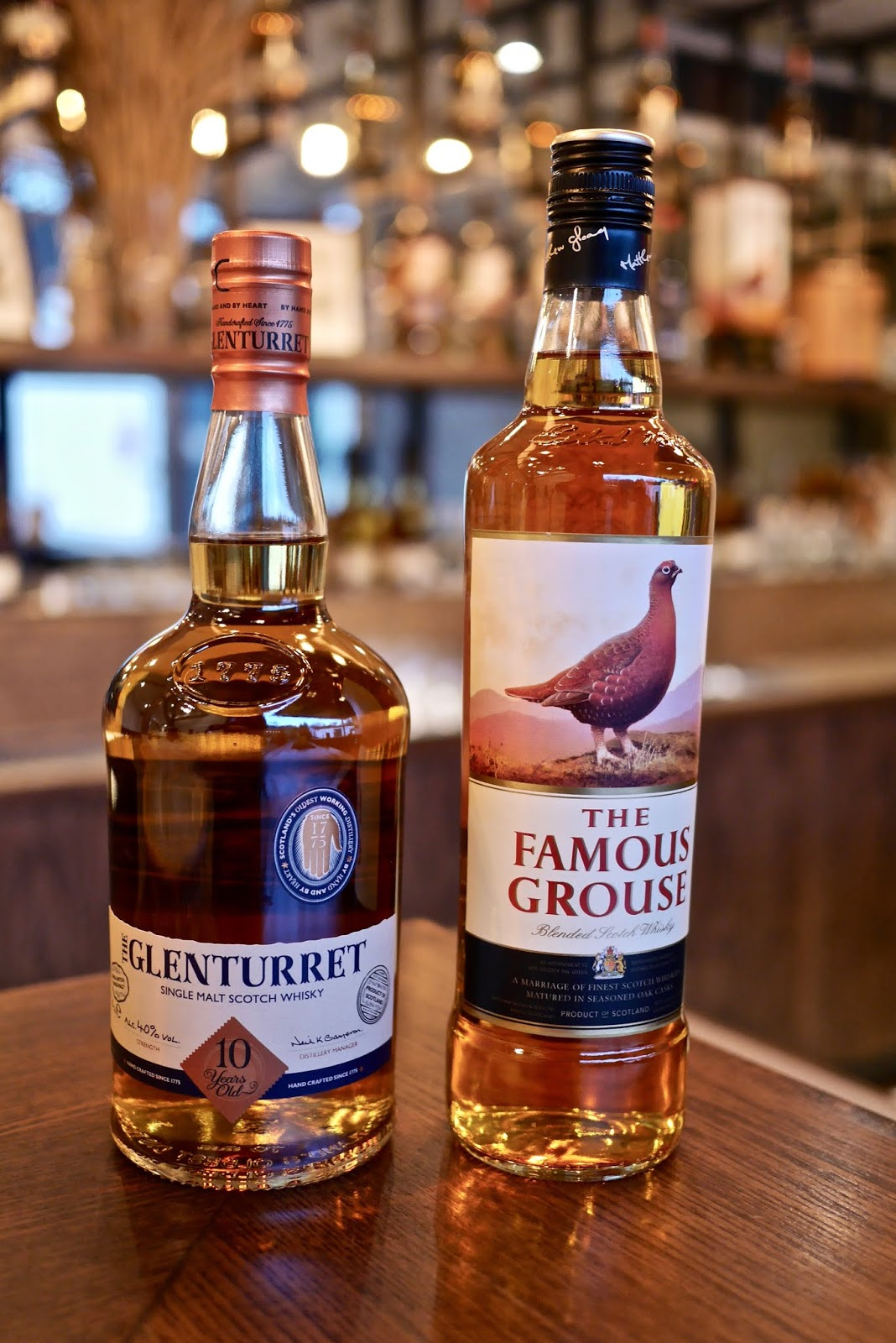 The Famous Grouse Experience at Glenturret Distillery