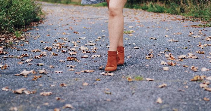 Jesienny casualowy LOOK