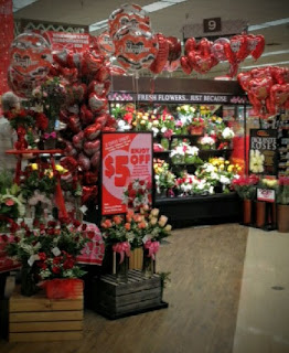 Image of a retail display that led to my writing about love