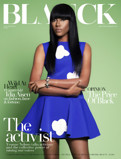 Actress Yvonne Nelson covers the Blanck magazine latest edition [SEE PHOTOS]