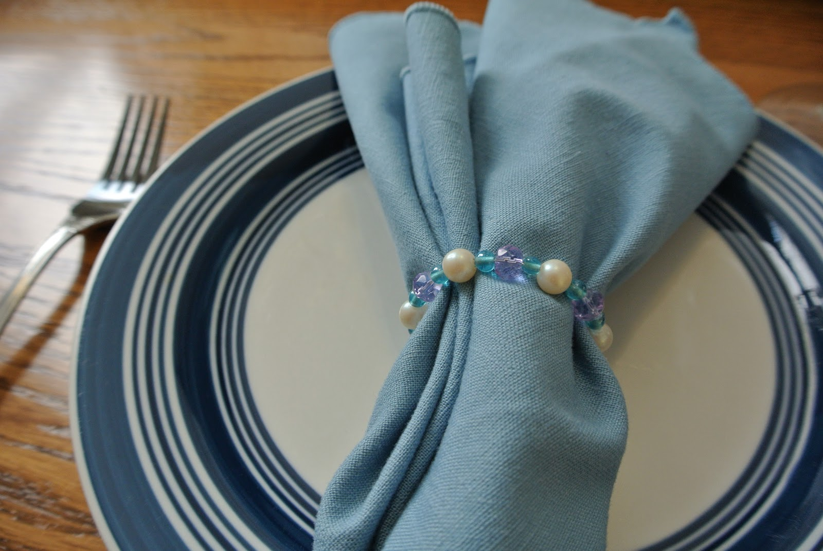 Asheville Lisa How To Make Simple Beaded Napkin Rings