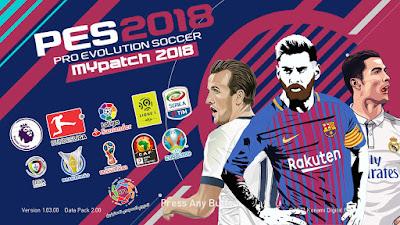 PES 2018 MyPatch 2018 Season 2017/2018