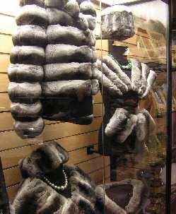 Chinchilla fur products
