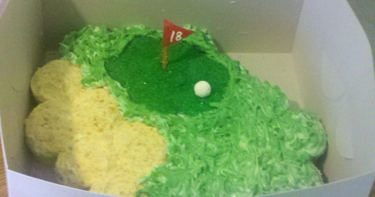 Cupcakes By Clever Golf Cupcake Cake