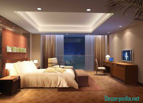 pop design for bedroom, pop false ceiling design for bedroom 2019 with lighting ideas