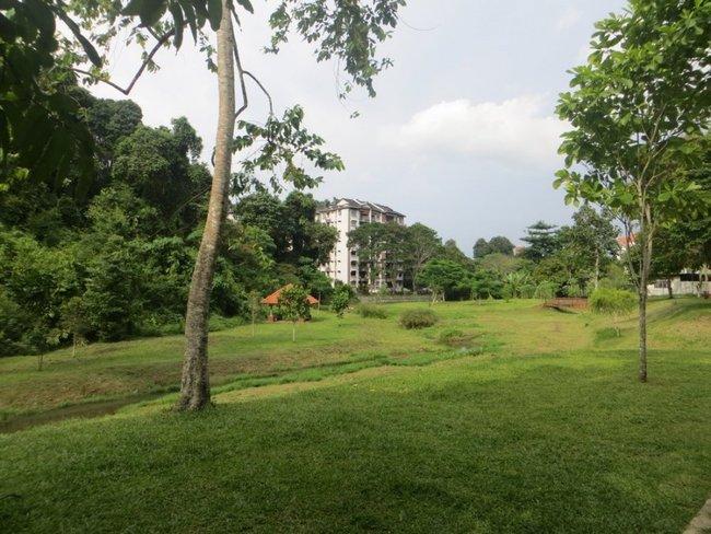 Жилой дом в саду