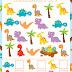 Free Dinosaur I-Spy Printable
