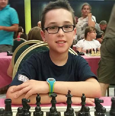 El ajedrecista Sub-10 GERARD AÑÓ i PLA
