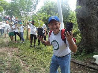 Reforestación Cerro Tecana Nueva Acrópolis Santa Ana