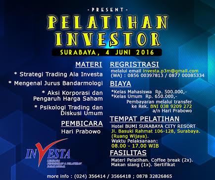 Pelatihan trading option di surabaya