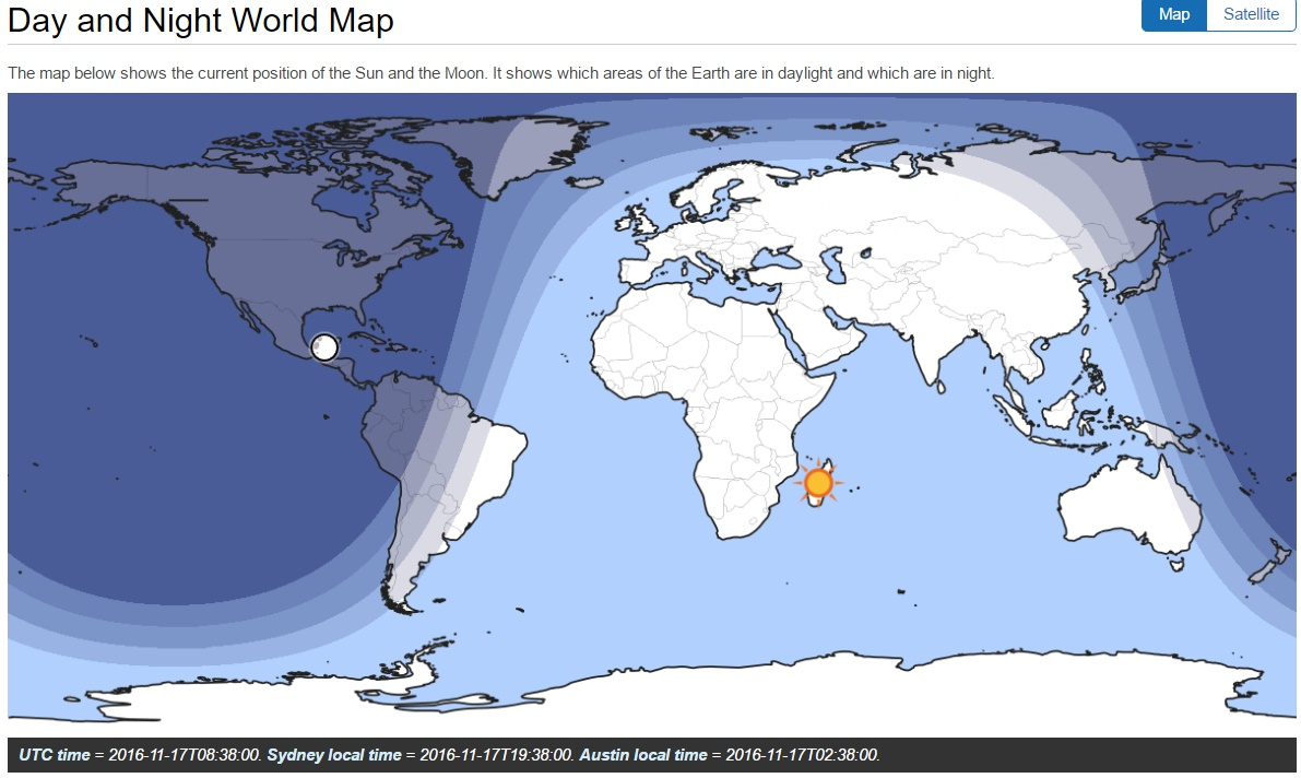 Why fe believers never will show you a perfect map meanwhile over in sydney the sun is setting at an azimuth 246 well south of due west gumiabroncs Images