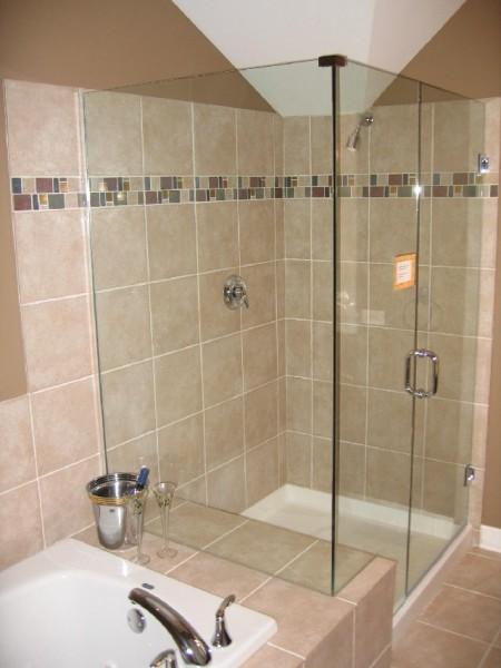 Trend Homes: Small Bathroom Shower Design