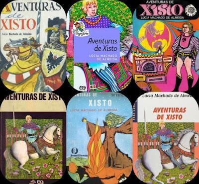Aventuras de Xisto. Lúcia Machado de Almeida.