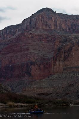 Diamond peak, nearing the end, chris baer, grand canyon colorado