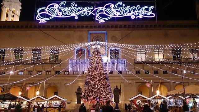 30.000 euros para unas luces de navidad nuevas para paliar los efectos negativos de las obras de la calle Don Jaime I