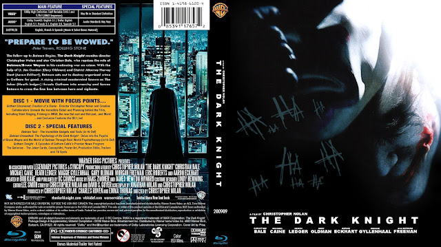 The Dark Knight Bluray Cover
