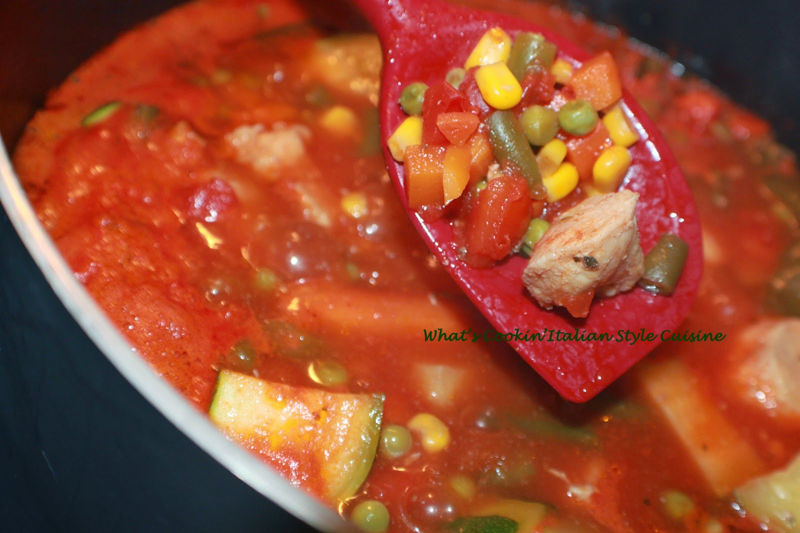 Burgundy Chicken Stewed Stew