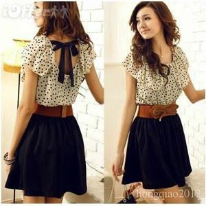 375772dbc0 Diseño corte y confección moda y estilo   Vestidos casuales