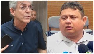 """Ricardo chama Walber Virgulino de desqualificado, lembra que ele saiu corrido do Rio Grande do Norte e revela: """"Ele sabe porque o demiti""""."""