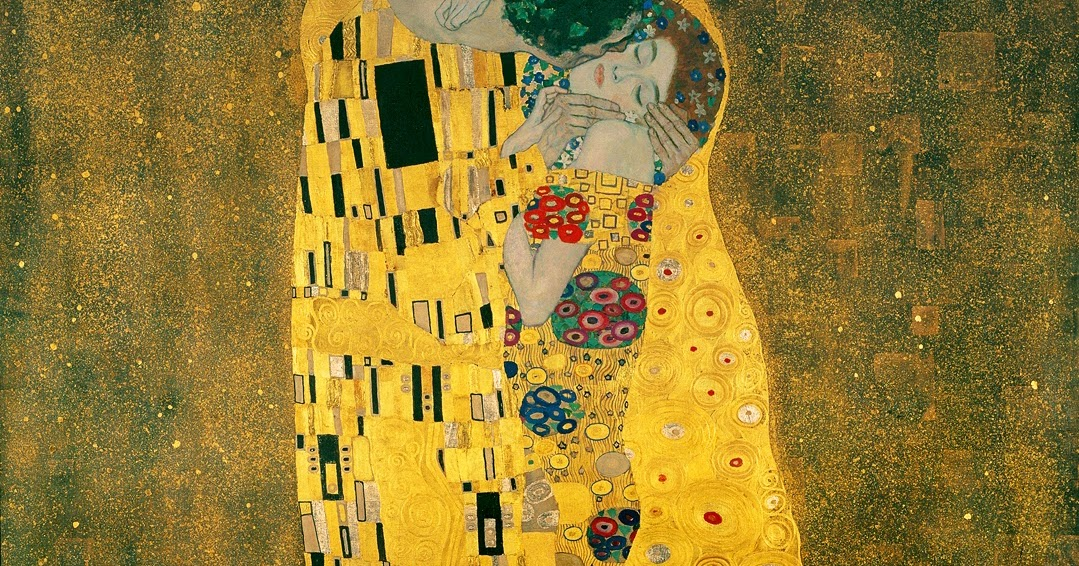 Beste KateKunst: Beeldanalyse Gustav Klimt - The kiss RH-01