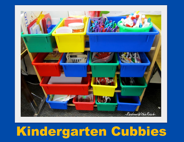 photo of: kindergarten shelf organization, getting organized, organized classroom materials