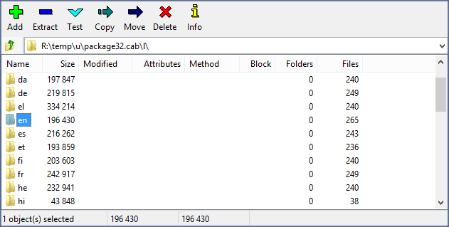 Extract directory, 7z, command line, wsusscn2 cab