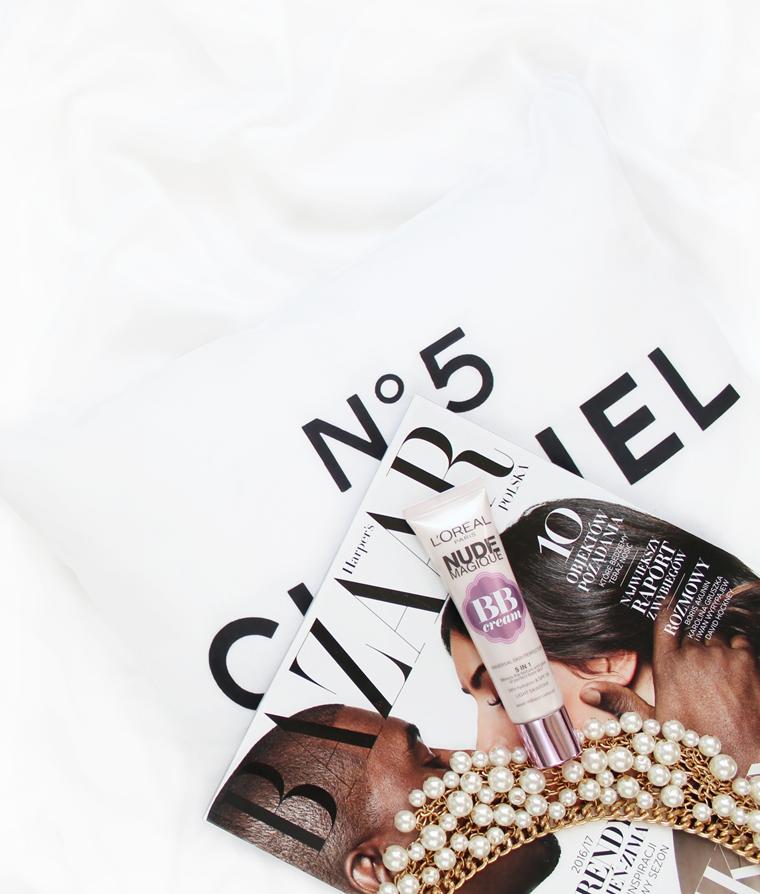 Ulubieńcy Sierpień 2016 L`Oreal Paris Nude Magique BB Krem BB