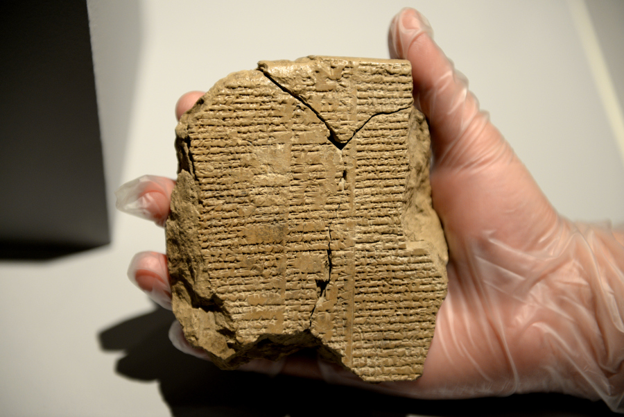 Iraq: Missing piece of Gilgamesh Epic discovered