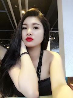 Gái xinh facebook DJ Thư Babie Hoàng Thư